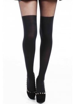Plain Over The Knee Tights
