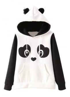Panda Pullover Hoodie