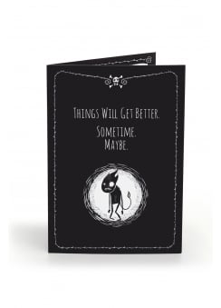 Things Will Get Better Anti-Greeting Card