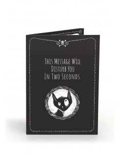 This Message Will Disturb Anti Greeting Card