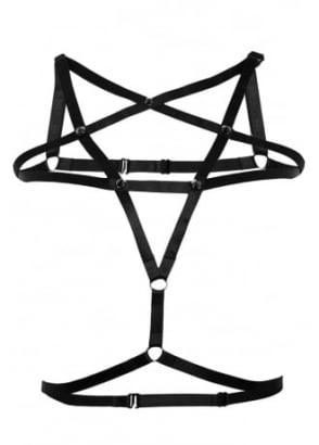 Pentagram Stud Harness