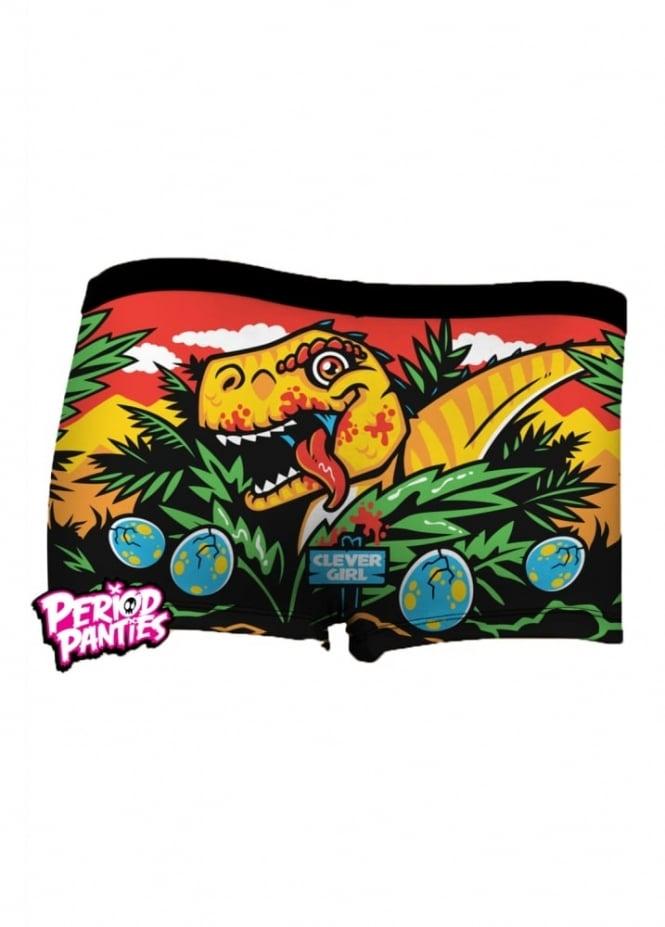 Period Panties Jurassic Period Boyshorts