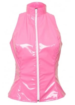 Pink Kandy Barb Sleeveless Top