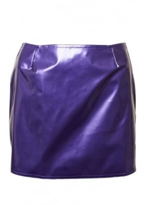 Purple Kandy Micro Skirt