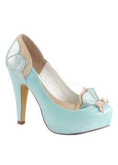 9e94933e716 Bettie 20 Blue Heel · Pin Up Couture ...
