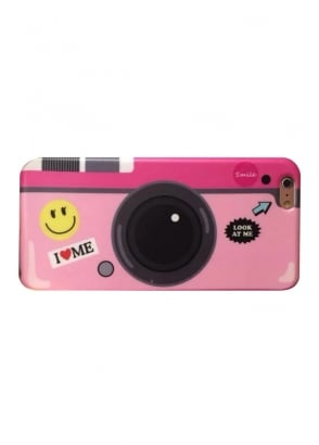 Pink Camera iPhone 6/6S Case