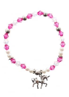Pink Mystical Unicorn Bracelet