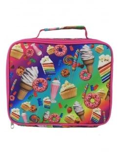 Pink Rainbow Desserts Lunch Box