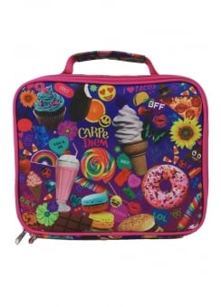Pink Snacks Lunch Box