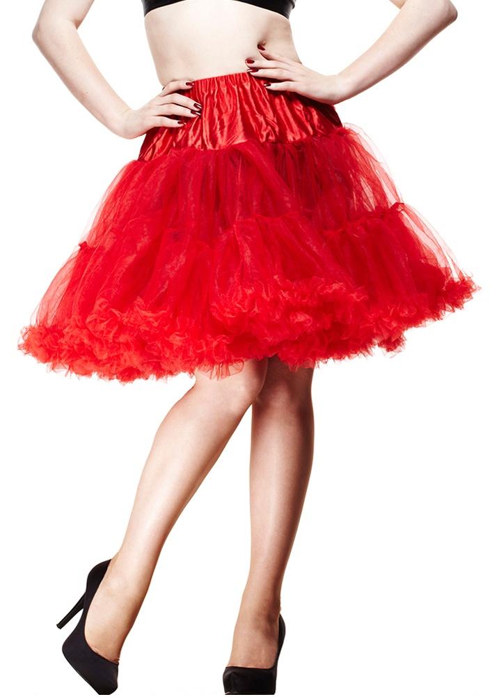 Short Red Petticoat  Size XSM
