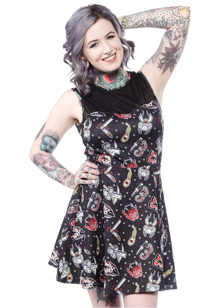 Friday The 13th Mary Lu Dress  Size S