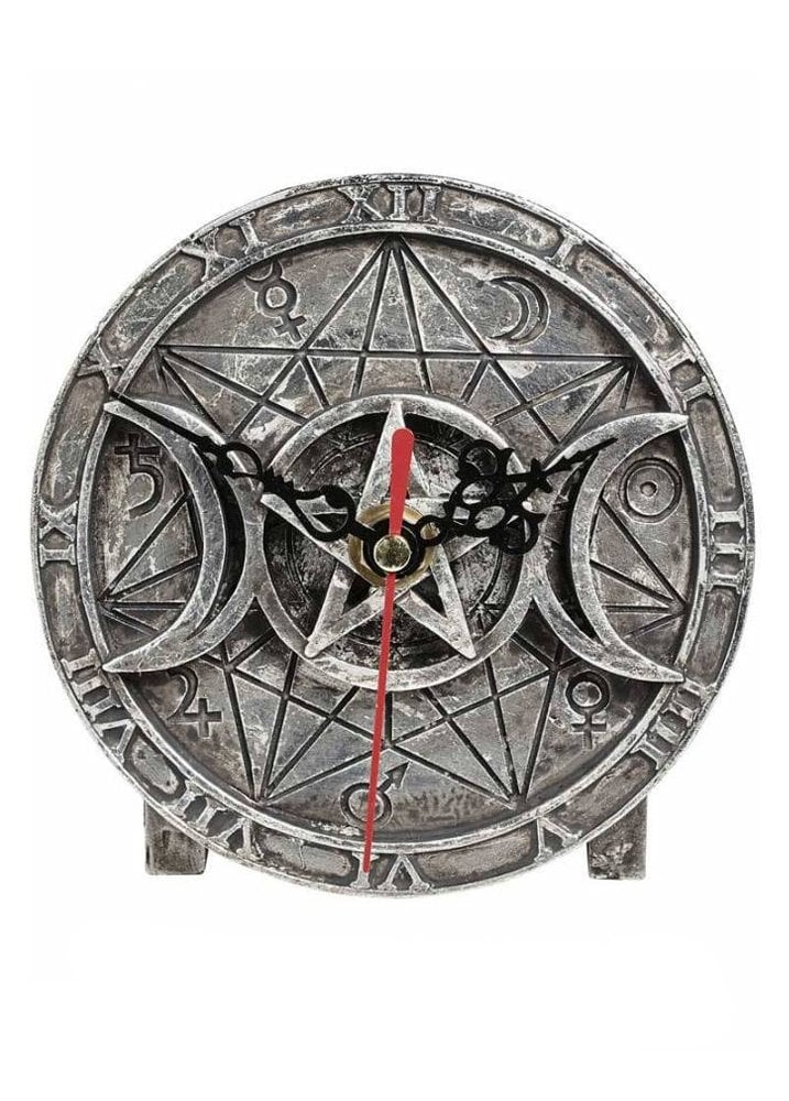 Decorations Wiccan Desk Clock