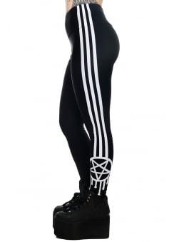 Sporty-gram Graffiti Pentagram Addicted Leggings