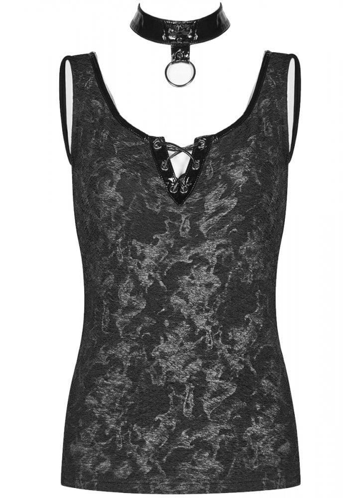 a7fc482cae1 Punk Rave Black Smoke Gothic Top | Attitude Clothing