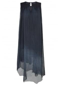 Grey Watercolour Dress