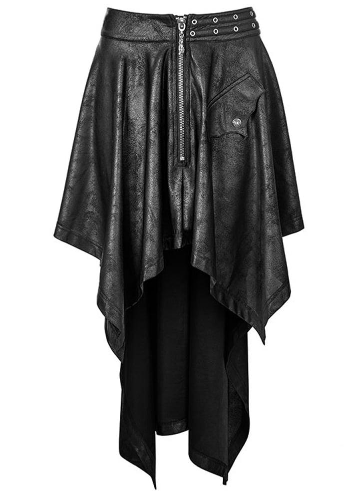 Punk Rave Luna Gothic Skirt Attitude Clothing