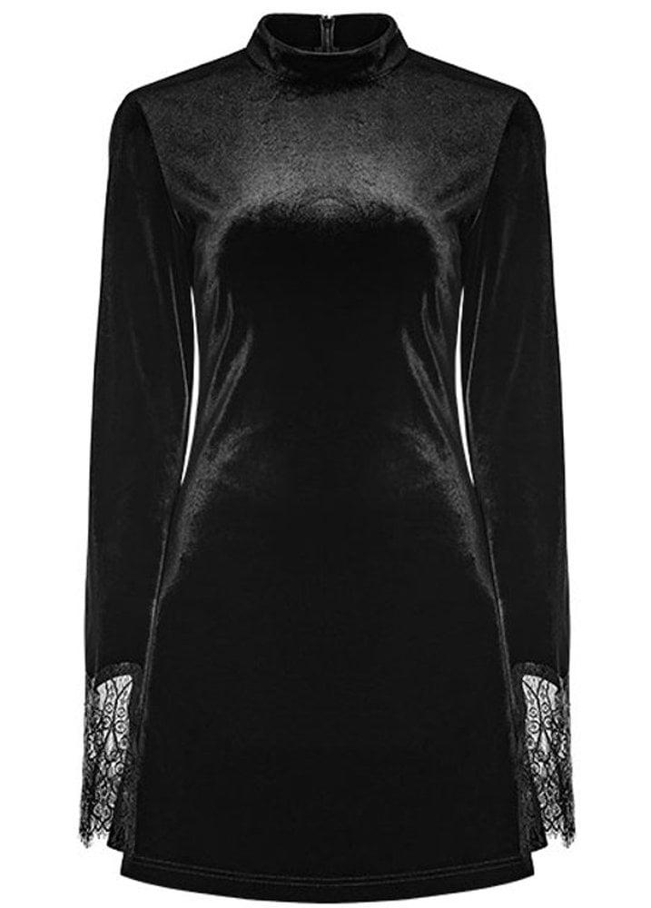5b5281184f8a04 Punk Rave Velvet Solstice Gothic Dress
