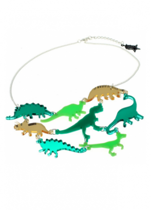 Dinosaur Gang Necklace