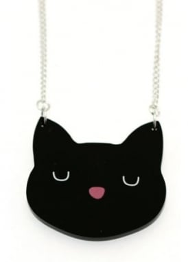 Lucky Black Cat Necklace