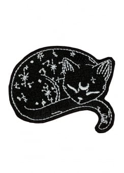 Mystical Cat Woven Patch