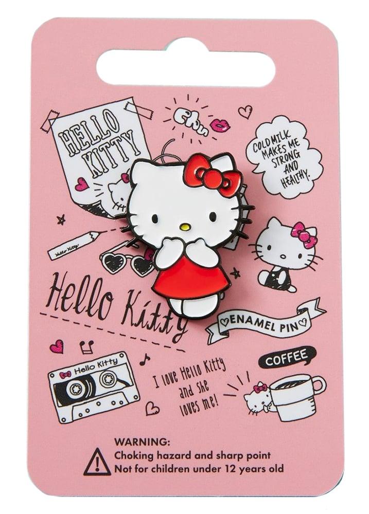 Red Dress Hello Kitty Enamel Pin
