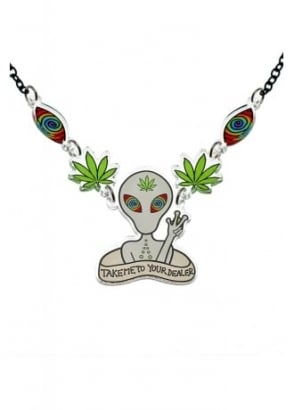 Take Me To Your Dealer Necklace