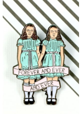 Punky Pins The Shining Twins Enamel Pin Badge