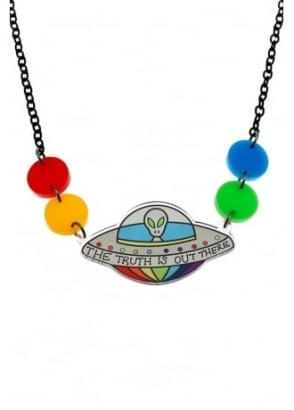 The Truth Is Out There Necklace