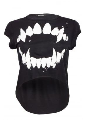 Teeth Cropped T-Shirt