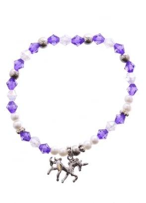 Purple Mystical Unicorn Bracelet