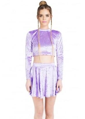 Purple Velvet Co-Ord