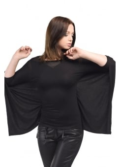 Batwing Gothic Long Sleeve Shirt