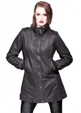 Buckled Collar & Sleeves Jacket