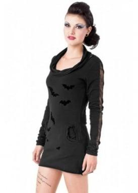 Velvet Bat Net Dress
