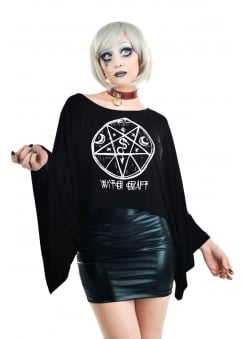 Witch Craft Coven Cape Top