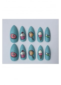 10 Dessert Stiletto Nails