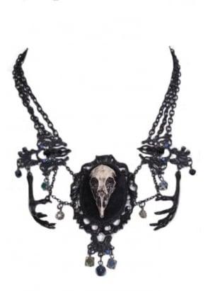 Dead Crow Necklace