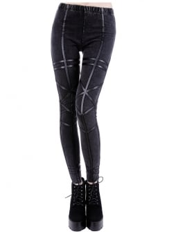 Acid Geometry Leggings