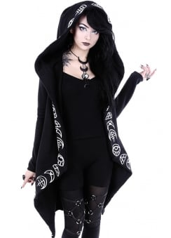 All Seeing Moon Gothic Hoodie