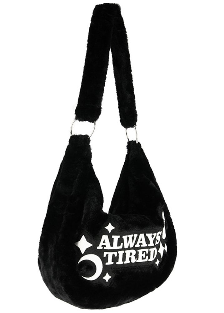 0685073fcad9 Restyle Always Tired Hobo Bag