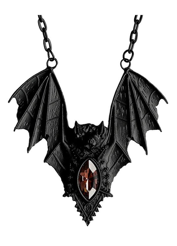 d326943e7 Restyle Bat Necklace | Attitude Clothing