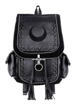 Black Crescent Backpack