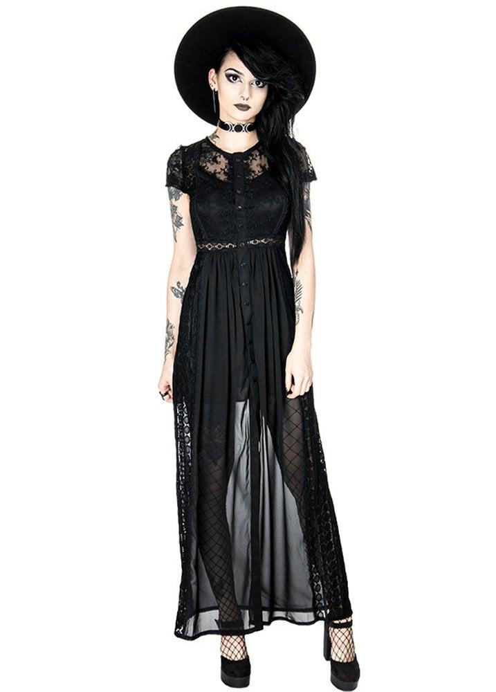 51a22eb774d Restyle Black Grace Gothic Dress