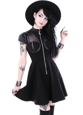 Restyle Future Goth Dress