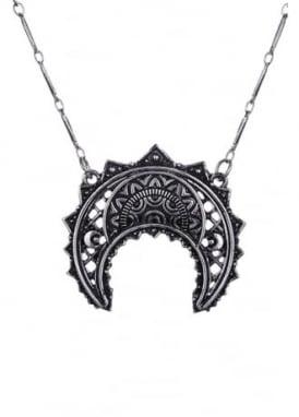 Henna Crescent Pendant