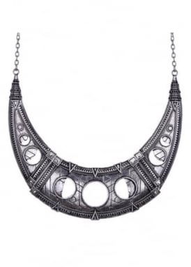 Hollow Moon Necklace