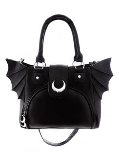 Moon Bat Elegant Goth Bag