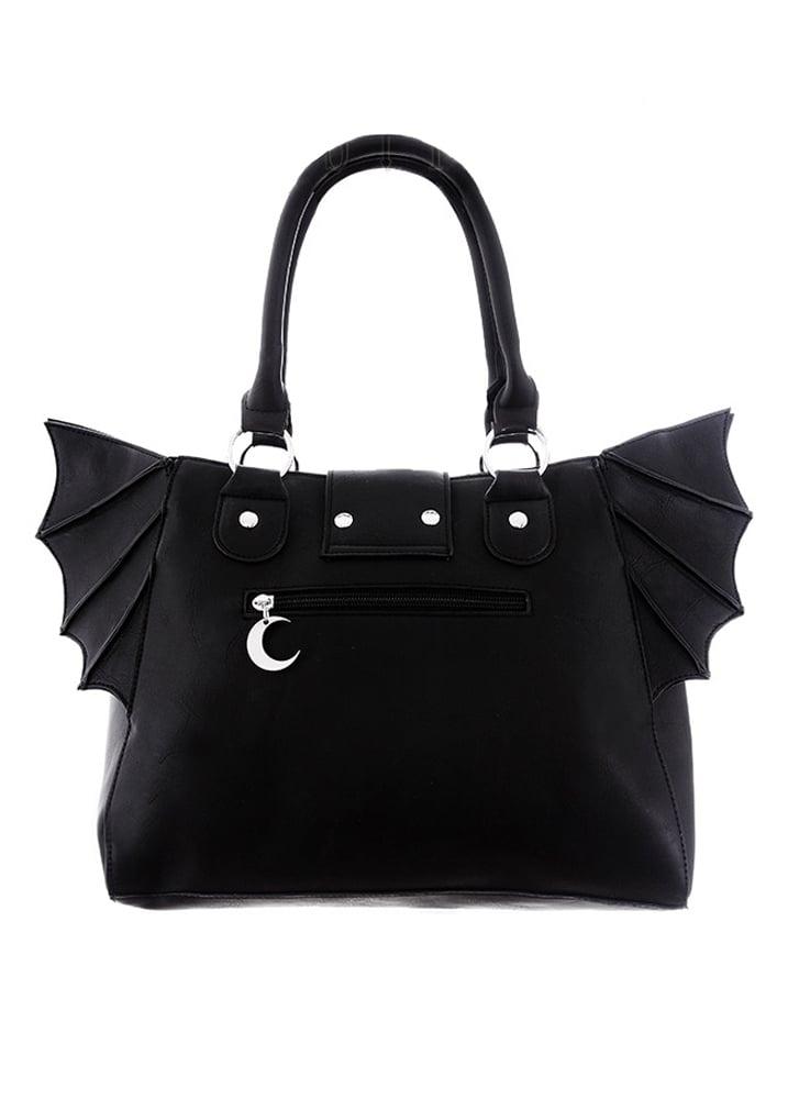 Restyle Moon Bat Elegant Goth Bag   Attitude Clothing 62e2b38cd0