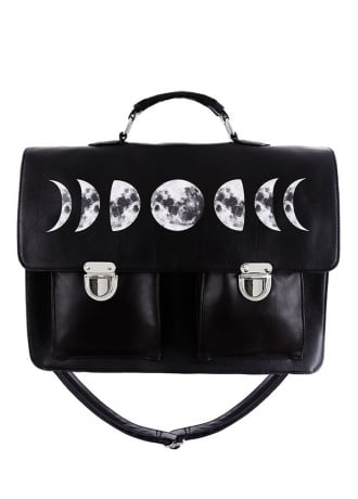 Restyle Moon Cycle Gothic Satchel
