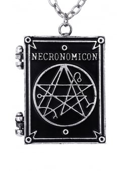 Necronomicon Book Necklace